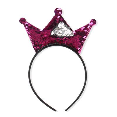 Baby Ragazze Glitter Paillettes Cat Ear Hairband Bambini Cosplay Costume capelli Hoop