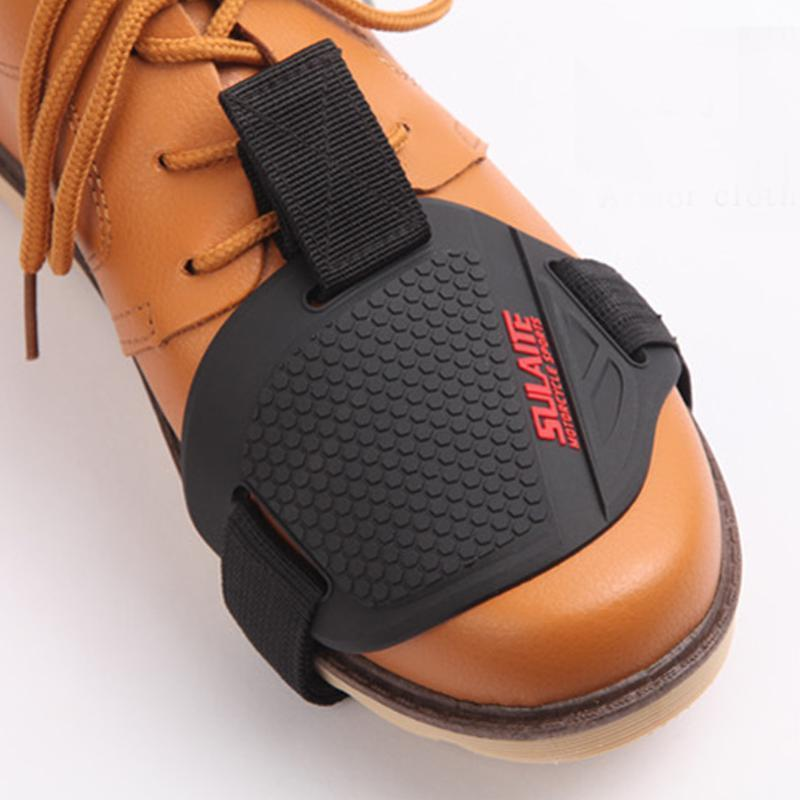 Motorcycle Motorbike Gear Shift Pad Cover Shoe Boot Protector Riding Shoes Protective Boot Accessories Racing Removable Protective Guard Damage Guard Black