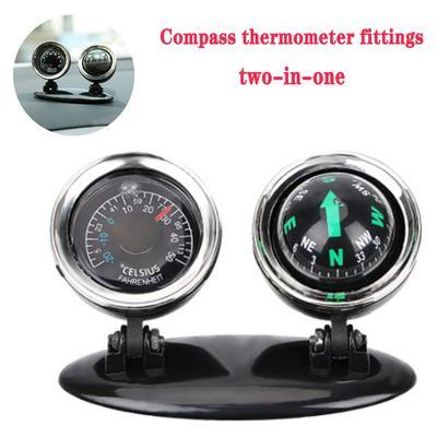 Car Mini Adsorption Compass Direction Dashboard Guide Ball Vehicle Accessory ZT