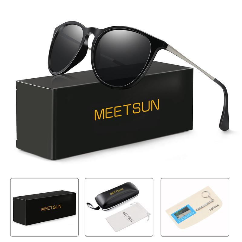 59D4 Pc Polarized Sunglasses Classic Glasses Frame UV400 Optical Glasses