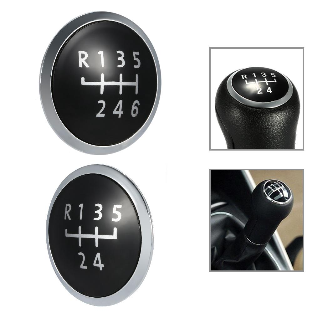 6 Speed Gear Shift Knob Car Gear Shift Knob Gearstick Gaiter Boot Kit Fit for Transporter T5 2003 2004 2005 2006 2007 2008 2009 2010 2011 T6