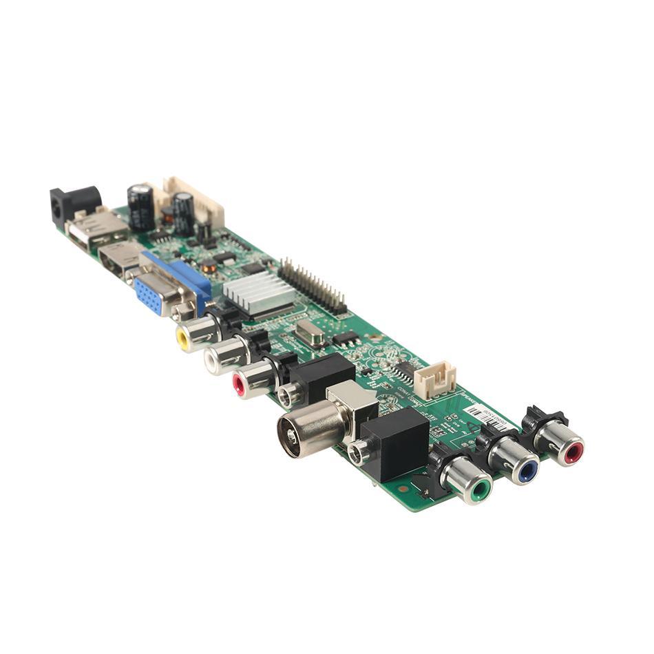 3663 DVB-C DVB-T2 DVB-T LCD TV Controller Driver Board 3463A USB play LUA63A82