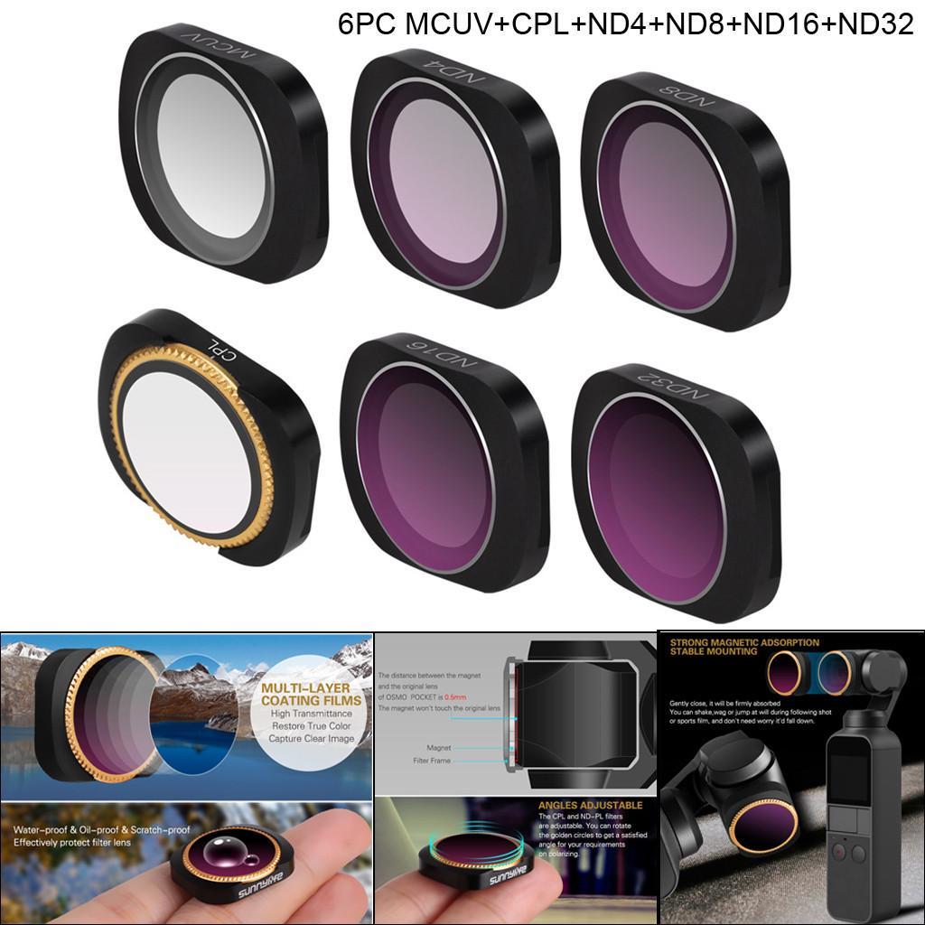 ---ND8 CPL//ND4//ND8//ND16//ND32//MCUV New-Hi 1 pcs DJI Mavic Pro Optical Glass Camera Lens Filter Neutral Density Filters