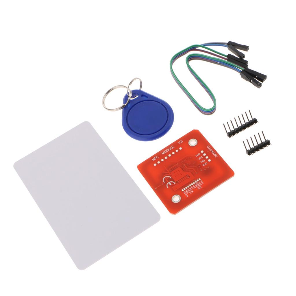 PN532 NFC RFID Wireless Module V3 Registered and Writer IC Mode PCB Antenna