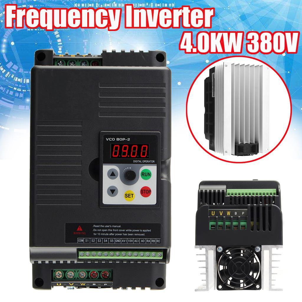 AC220V 0.75kW Entraînement Variateur de fréquence Single Phase Vitesse Variable1