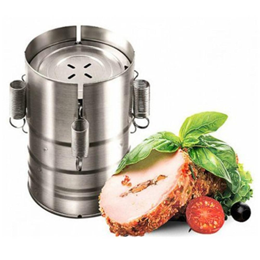 New Little Chicken Mould Ham Meat Press Ham Maker Tongue Press Cast Aluminium