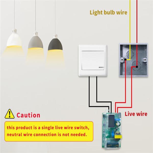 Ewelink Wifi Light Switch Module, 240v Light Switch Wiring Diagram