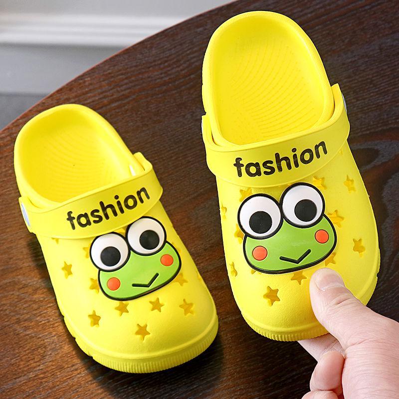 Buoyee Summer Toddler Baby Boy Girls Cute Cartoon Beach Sandals Slippers Flip Shoes
