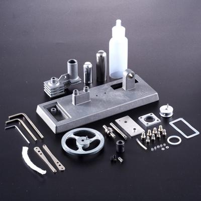 Hot Air Stirling Engine Model Electric Generator Motor Physics Eductation Toys