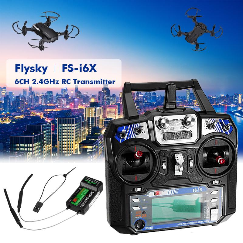 FLYSKY iA6 FS-iA6 2.4G 6CH AFHDS Receiver For FLYSKY FS-i10 FS-i6 RC Transmitter