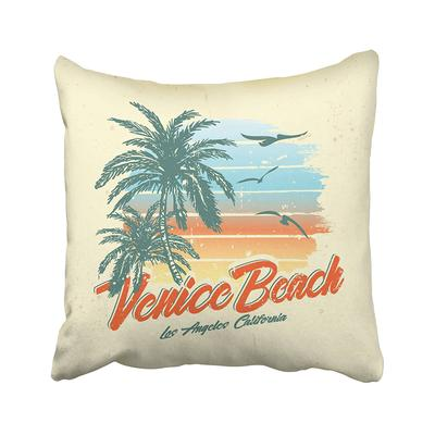Blue Surf Vintage Car Parked On The Tropical Beach Seaside With Surfboard Roof Fun Pillowcase Pillow Cushion Cover 20x20inch 50x50cm Buy At A Low Prices On Joom E Commerce Platform