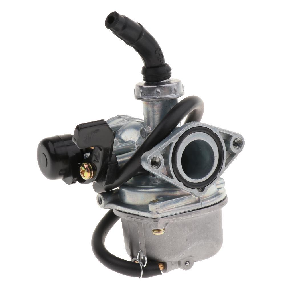 PZ19 19mm Cable Choke Carburetor 35mm Air Filter 90 110 125cc ATV Quad dirt bike