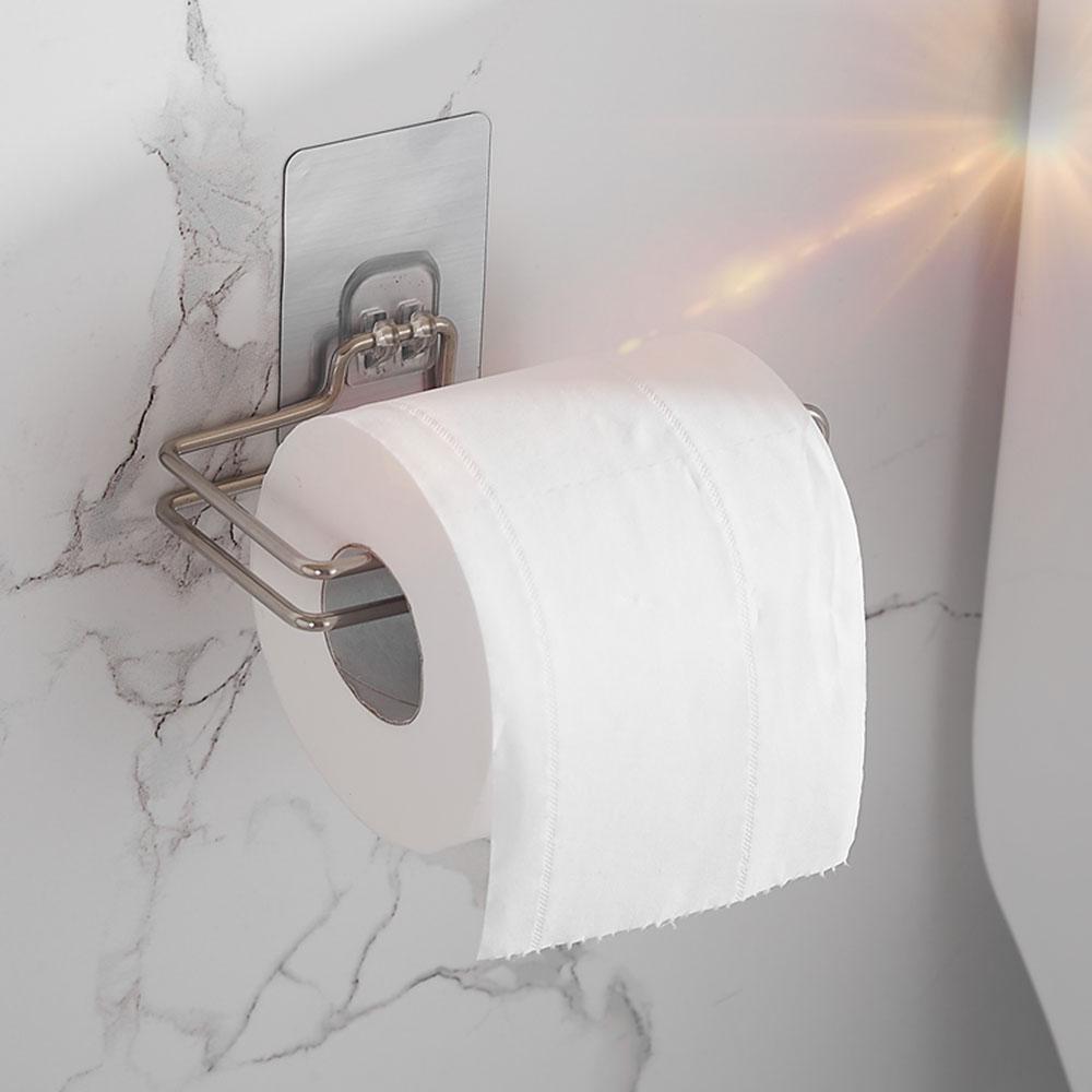 Ванная кухня Кухня Roll Бумага Держатель нержавеющей стали неоднократно моющиеся Stick Крючки Rackstorage – купить по низким ценам в интернет-магазине Joom