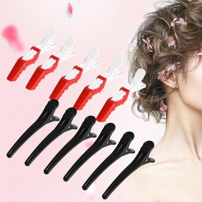 Black Hair Clips 6PCS New Sectioning Clips Hair Clamp Hairpins Hairdressing Grip DIY Accessories