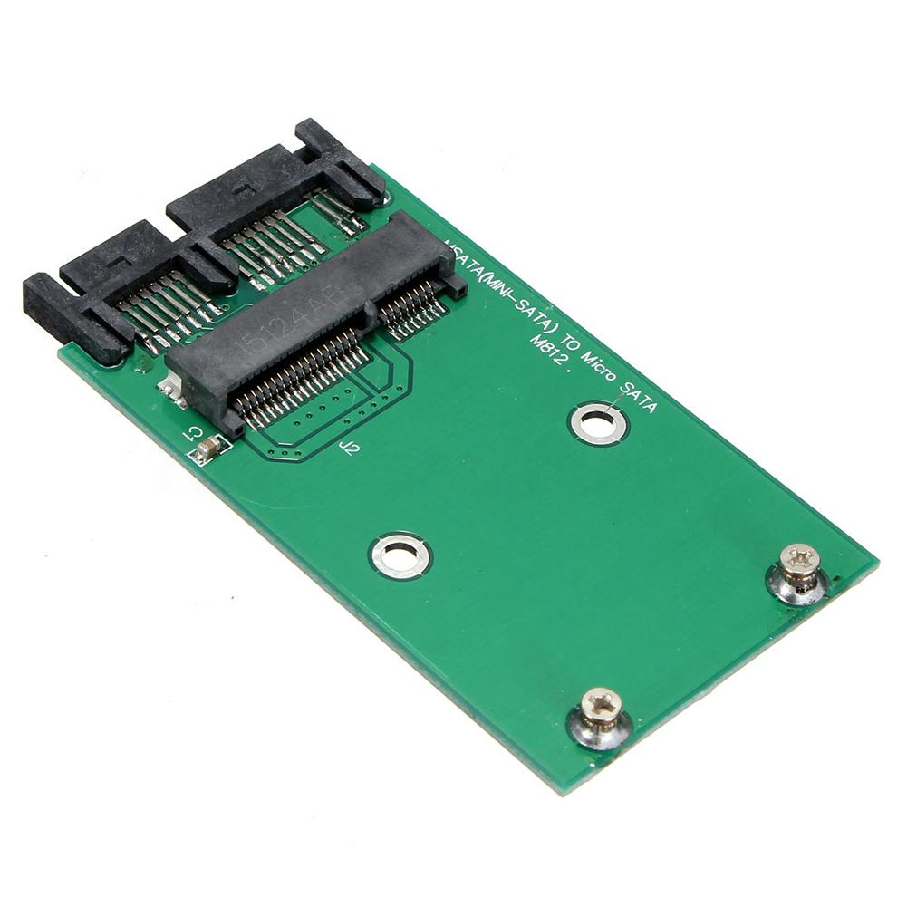Mini Pcie M Sata Ssd To 18 Inch Micro Adapter Converter Card 50cm Data Cable Power 1 Of 5