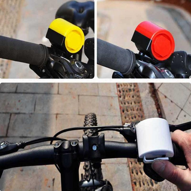 MTB Road Bicycle Bike Electronic Bell Loud Horn Cycling Hooter Siren Holder MT
