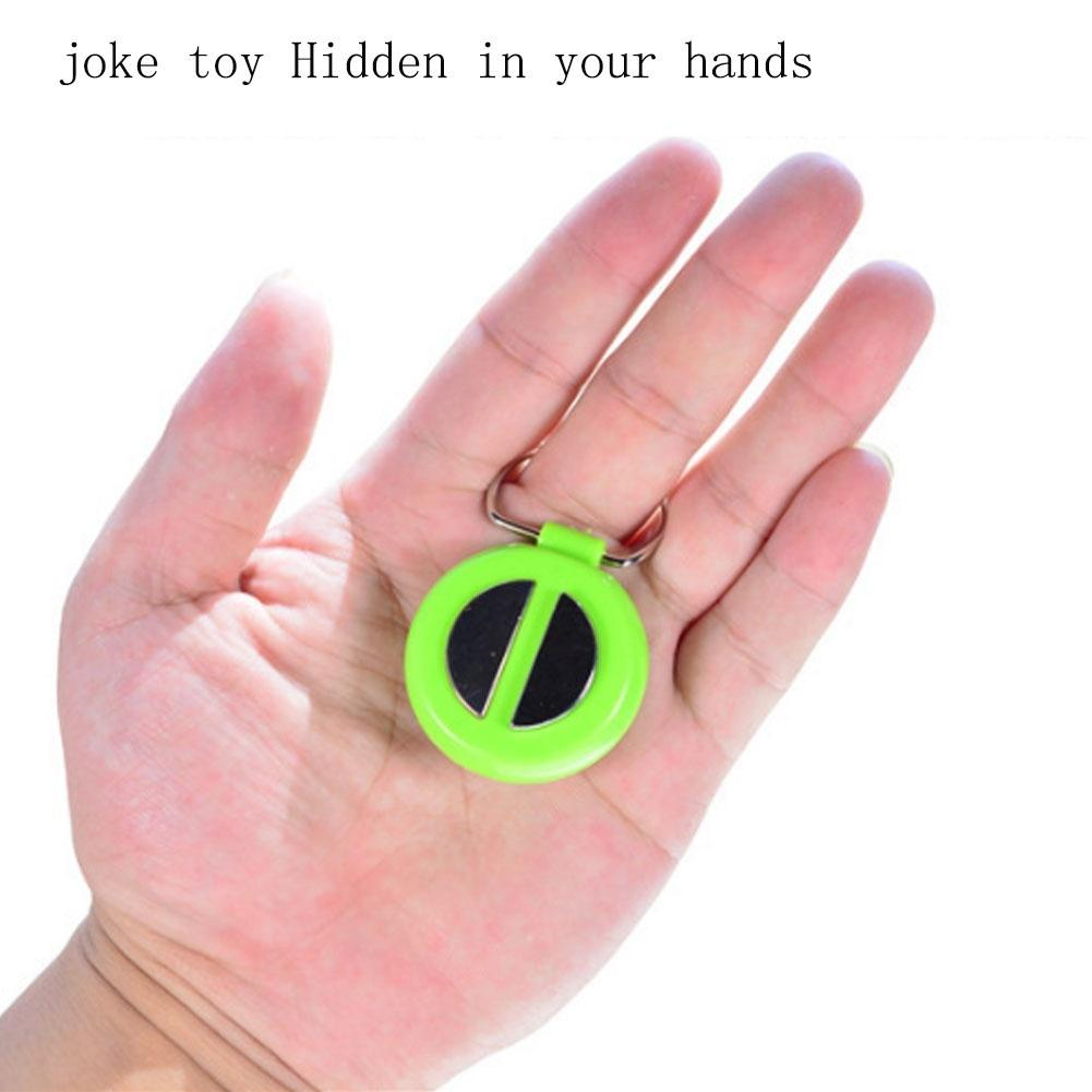 Choque Elétrico Divertida Pegadinha Truque divertido Mão Buzzer choque Brinquedo Presente De Piada nas 1PC