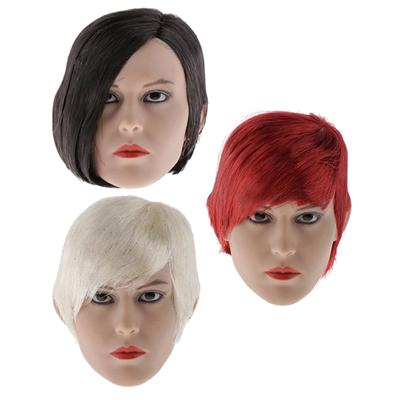 MagiDeal 1//6 Lady Head Carving Ear for 12/'/' Action Figure Doll Body Parts A
