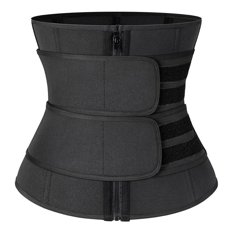 Details about  /Women Waist Corset Trainer Sauna Sweat Weight Loss Body Shaper Slimmer Gym Belt