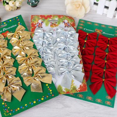 Pretty Bow Tie Christmas Tree Ornaments Christmas Pendant Tree Decoration Baubles