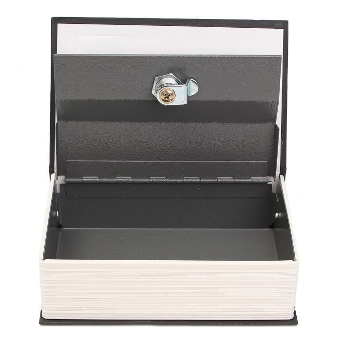 Fake English Dictionary Book Shape Money Coin Storage Box Hidden Safety Lockable