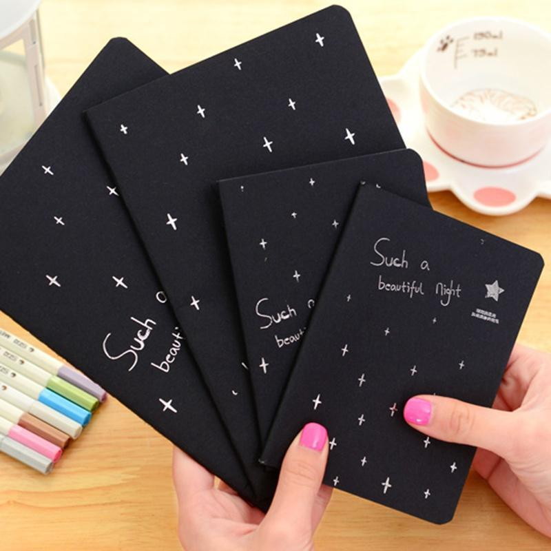 16K 32K 56K Notebook Diary Black Paper Notepad Sketch Graffiti Notebook for Drawing Painting Office-buy at a low prices on Joom e-commerce platform