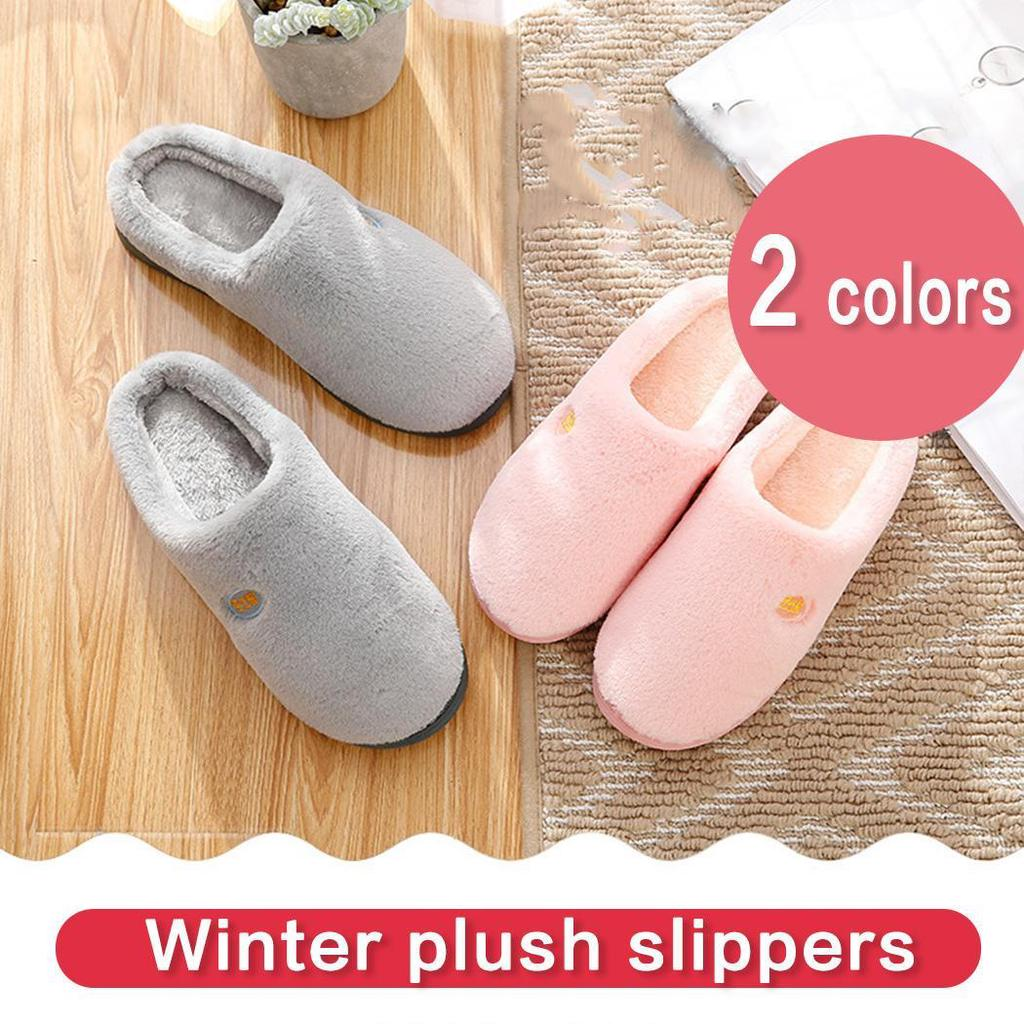 Pink Indoor Plush Ballerina Slippers Size 40-41