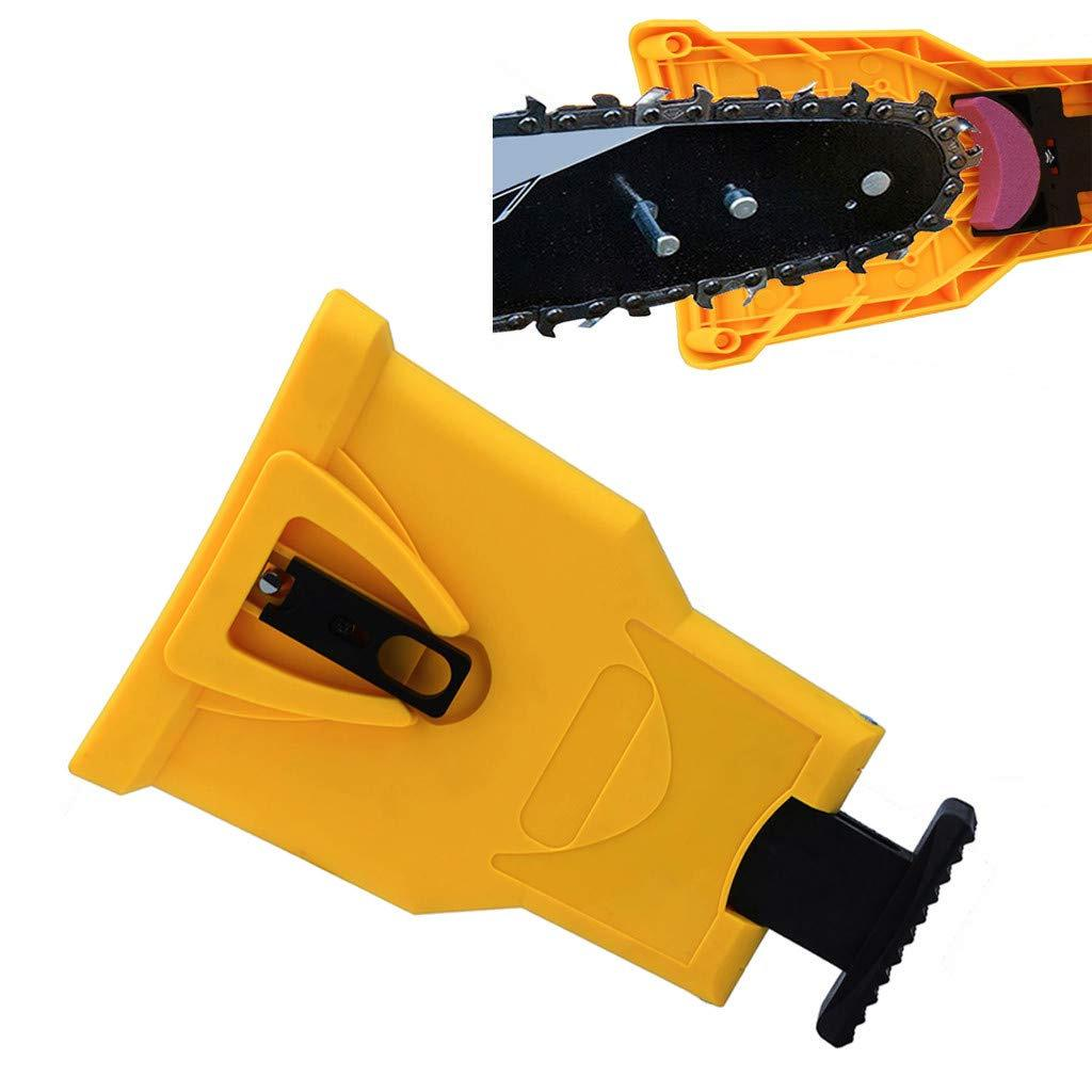 Woodworking Chainsaw Teeth Chain Saw Sharpener Sharpening Stone Grinding Tool