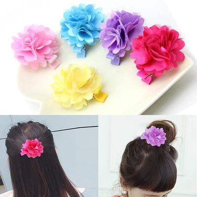 Headwear Mini Barrette Ribbon Jacobs Star Hair Clips Girl Bowknot Hairpins