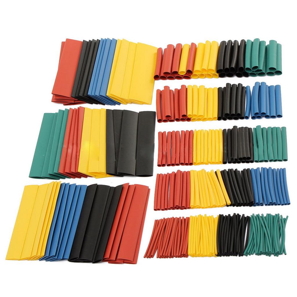 Heat Shrink Tube Wrap Sleeve Assorted Tubing Wire Electrical Cable Tubes