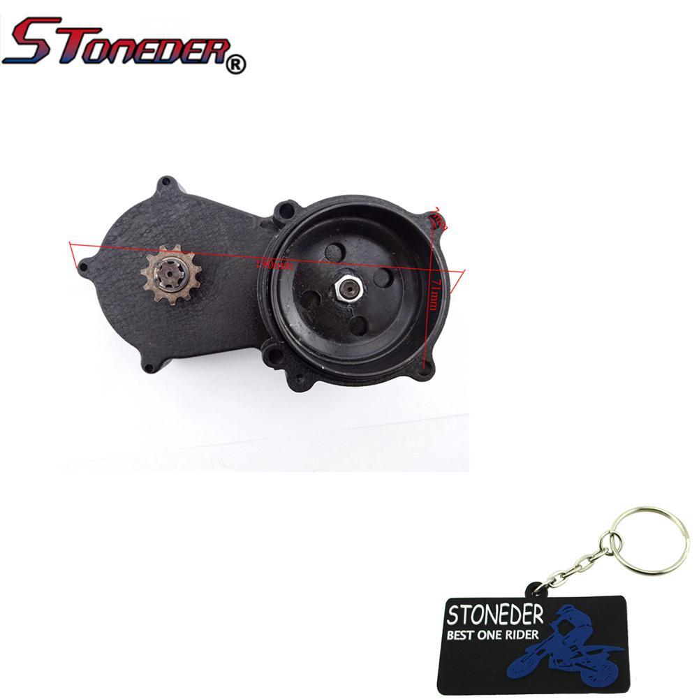 Stoneder T8/F 11/dents double cha/îne tambour dembrayage Bo/îte de vitesses pour 47/cc 49/cc 2/temps Moteur chinois MINIMOTO Moto Dirt bike
