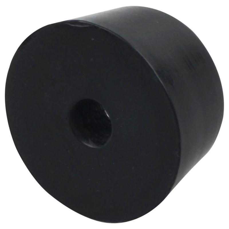 40x Rubber Feet 19mm x 10mm Washer Pad Covers Bumpers Black Furniture Accessary