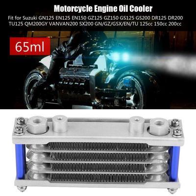 Inline Radiator Water Cooler Atv Dirbike Motorcycle Universal Suzuki Kawasaki