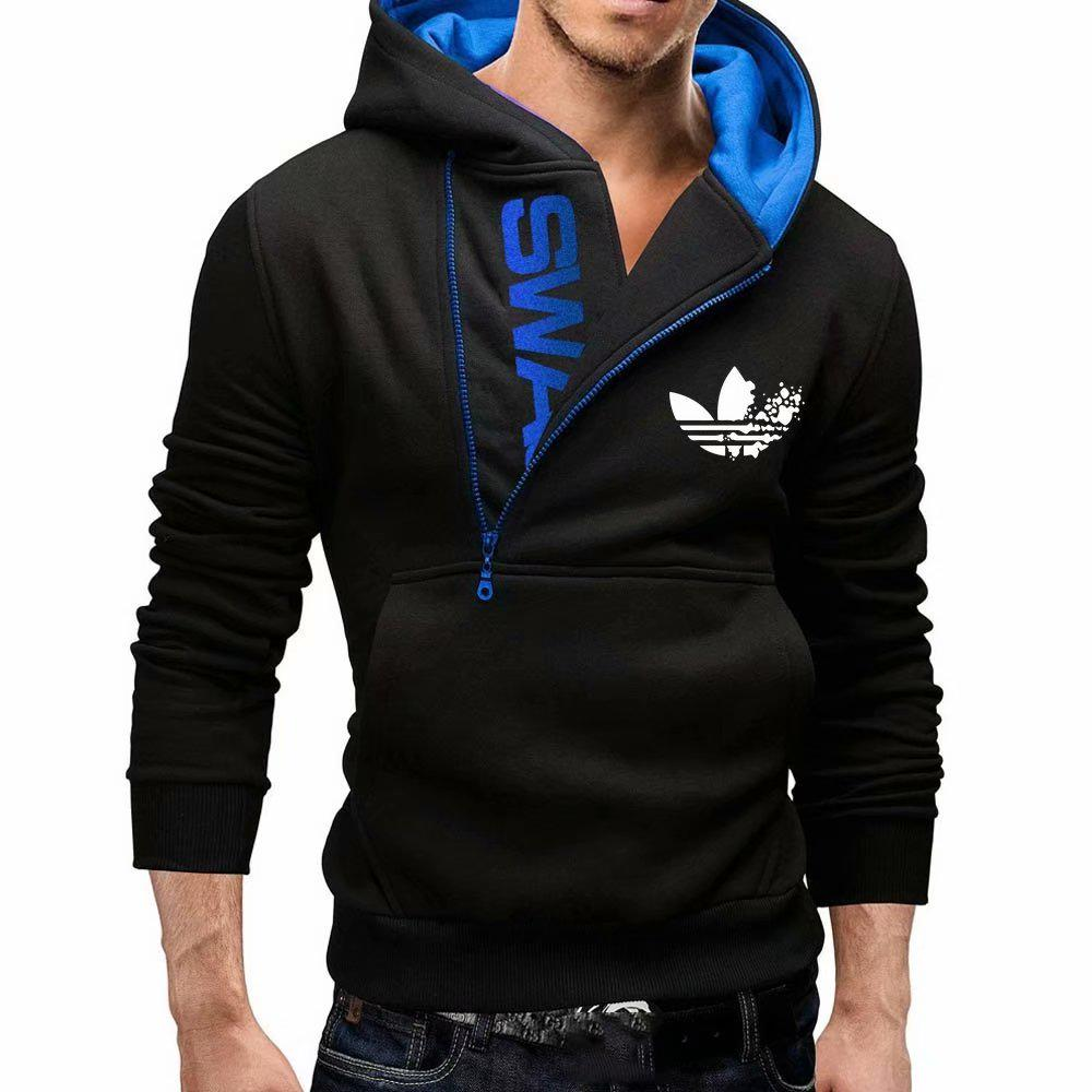 Men Long Sleeve Casual Sweatshirt Coat Hoodies Top Blouse Tracksuits S-5XL