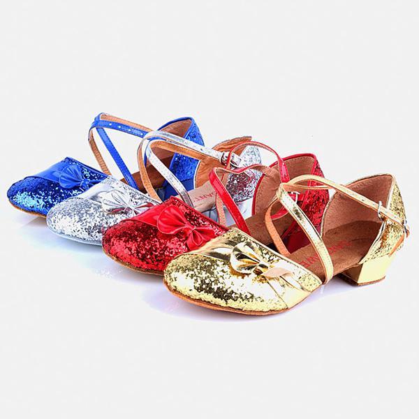 facf6946458 Par de zapatos niñas rumba vals paseo salón de baile latín salsa zapatos de  baile