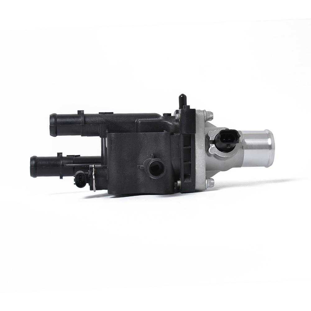 Termostato del coche Termostato del refrigerante del motor del autom/óvil 25192228 Junta del sensor de temperatura del termostato del refrigerante del motor para Cruze 2011-2015