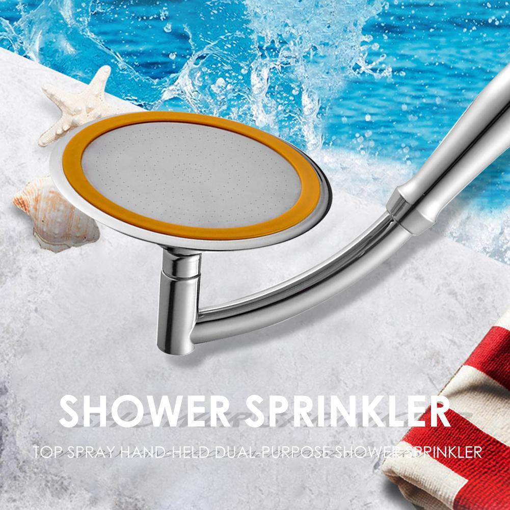 4//6in ABS Hand Held Adjustable 2 Mode Bathroom Jetting Handheld Shower Head NIGH