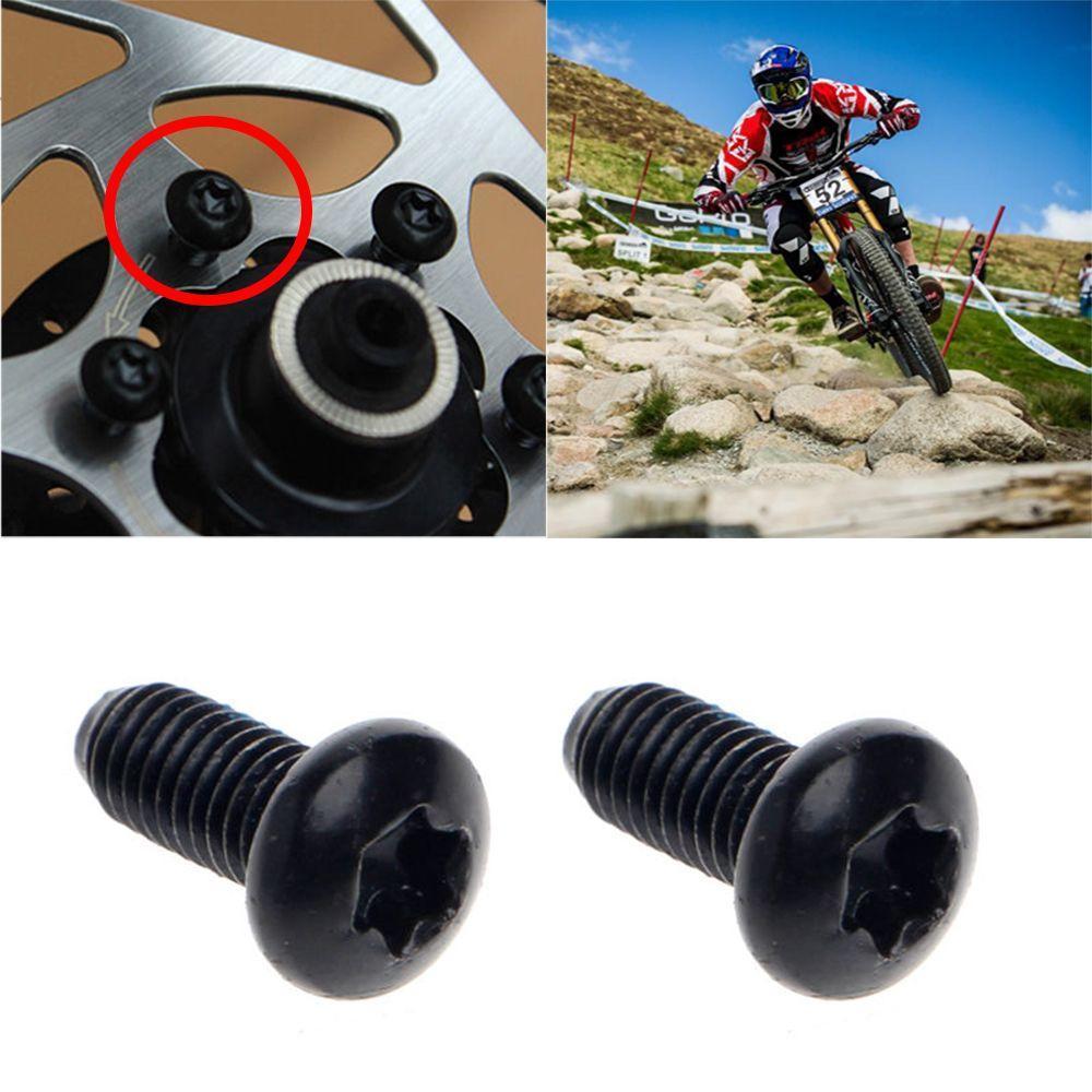 Mountain Bike M8 Crankset Crank Arm Screw Aluminum Axis Fixing Bolt Mount Parts