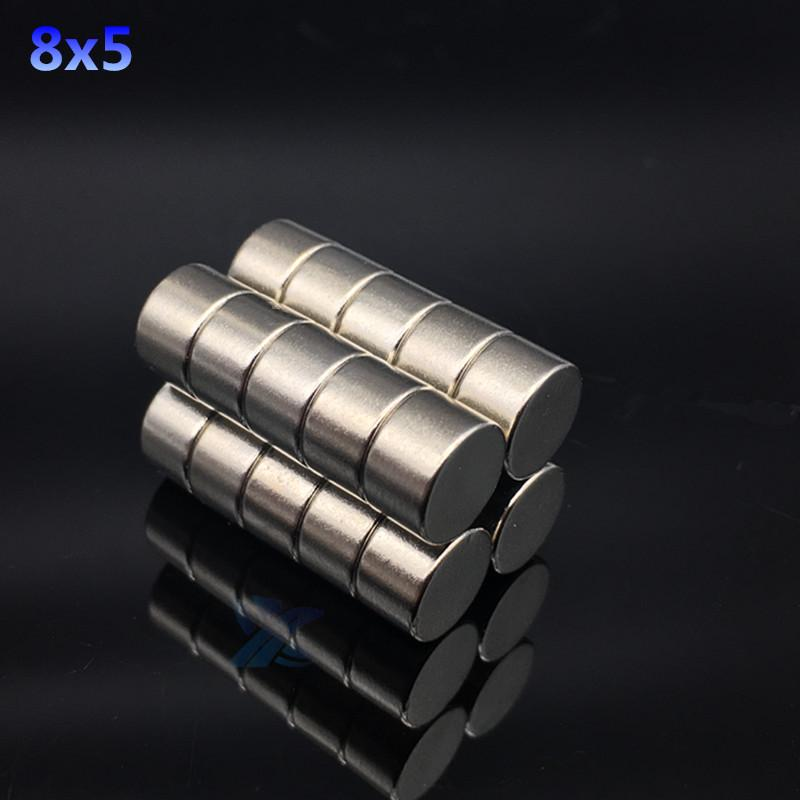10Pcs 10x1mm N52 Powerful Strong Round Disc Neodymium Rare Earth Block Magnets
