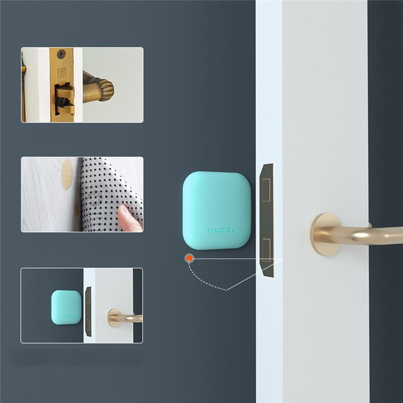 Kitchen Door Handle Protective Cover Room Door Knob Handle Protective N3