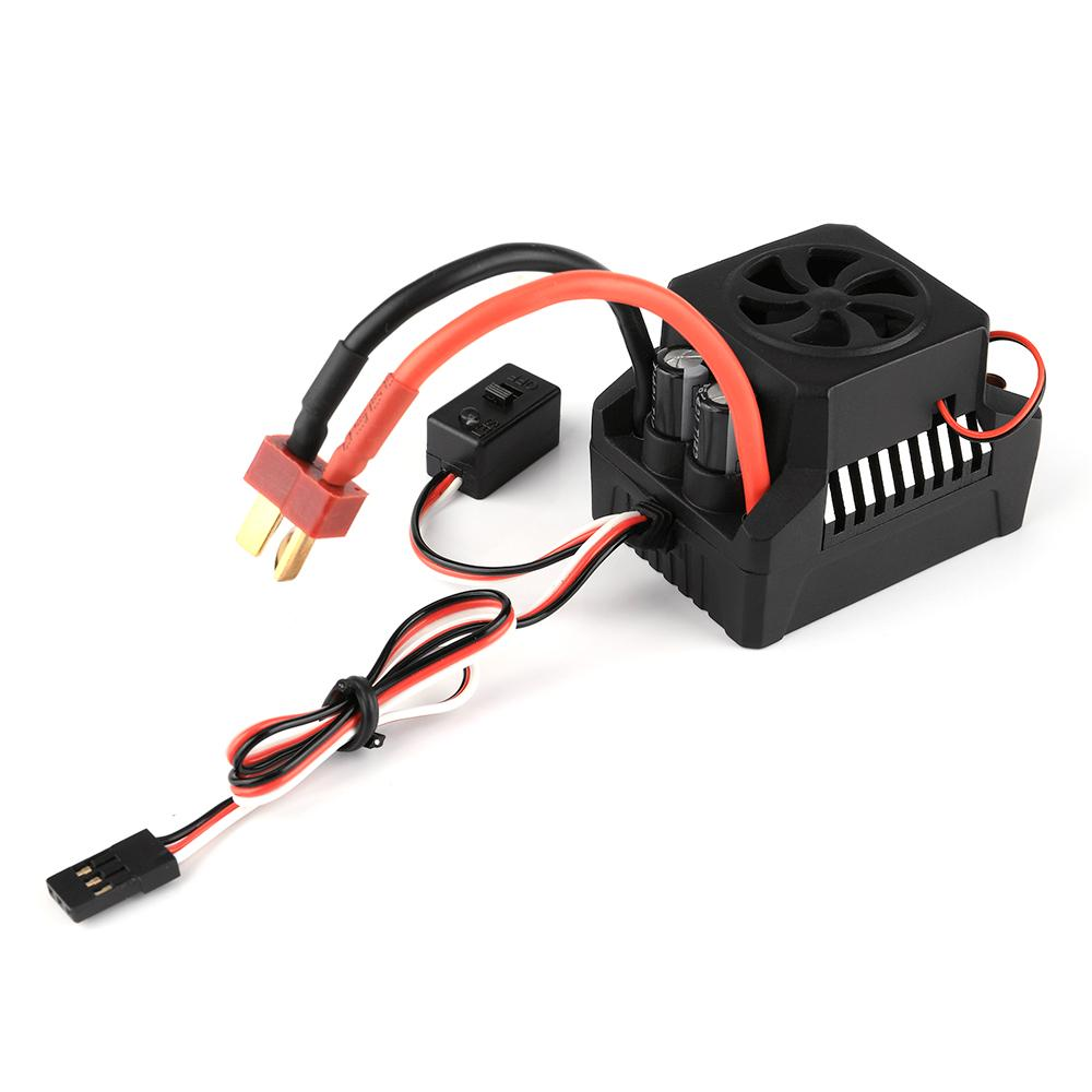 GoolRC 60A Brushless ESC Electric Speed Controller 6V//3A BEC for 1//10 RC Crawler