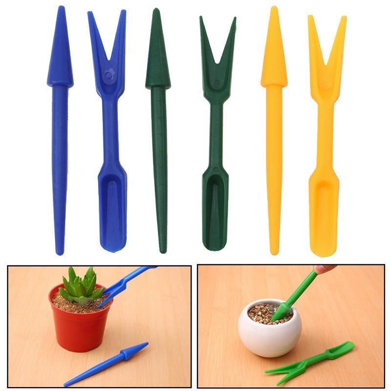 Set of 2 Widger /& Dibber Hole digging Seedling Weeding planting Gardening Tools