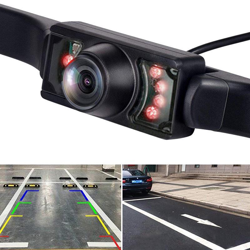 HD автомобиль Вспять камеры IP67 Wateproof Лицензия плиты кадр инфракрасный свет Ночное зрение Авто Cam – купить по низким ценам в интернет-магазине Joom