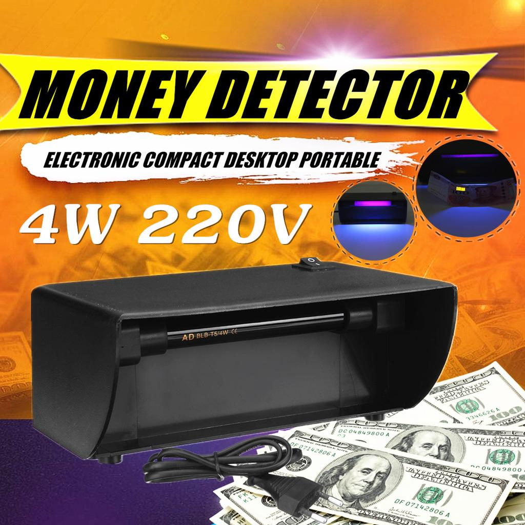 Portable Size UV Light Banknotes Detector Counterfeit Fake Forged Money Bank Note Checker Detector Tester Marker Pen
