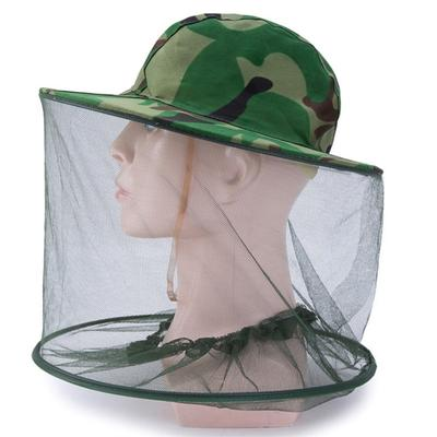 Beekeeping Supplies Sensible Camouflage Fishing Hat Mosquito Cap Fly Bug Insect Bee Hat With Net Mesh Neck Head Face Protector Beekeeping Hat