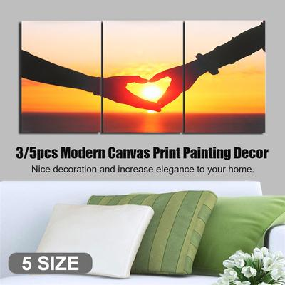 Sunset Modern Canvas Print Painting Art Picture Poster Home Wall Decor Unframed