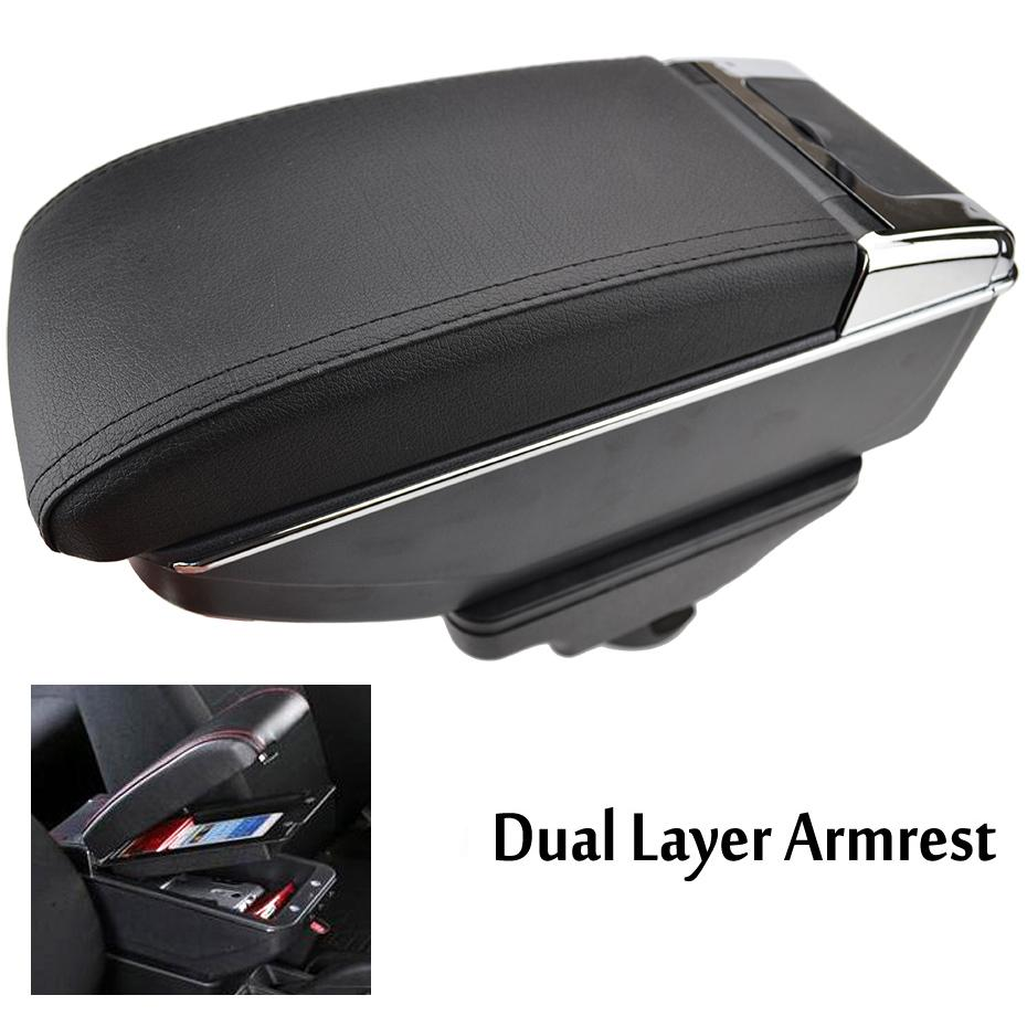 Fit For Hyundai Accent Solaris 2018 Interior Armrest organizer Storage Tray Box
