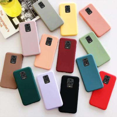 Candy Color TPU Cases for Xiaomi Redmi 9 9A 9C 10X K30 Note 8 8T 9S 9 Pro Max 4x 5 6 Full Cover Matte Phone Bag