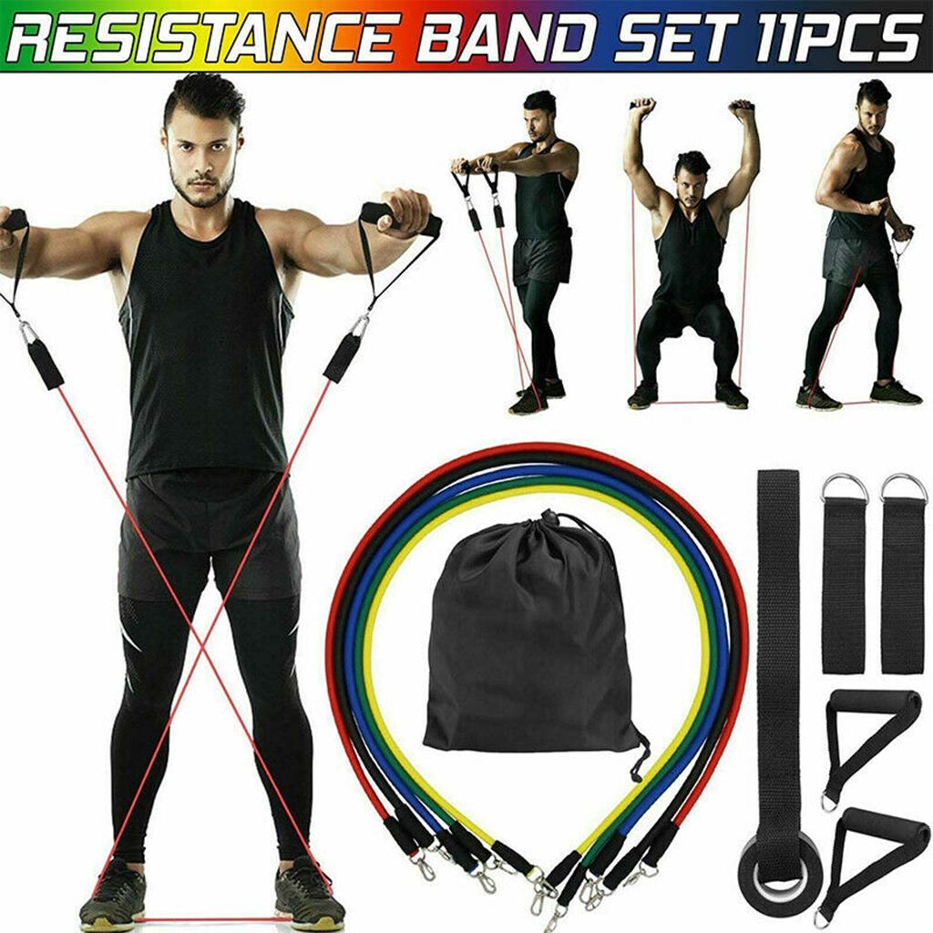 2PC Resistance Bands Door Anchor For Home Workouts Pull Rope AccessoRSQE