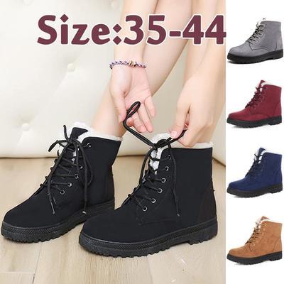 ae623adc2ca712 Взуття мода жінок зимові куртки зимові взуття потовщений хутро взуття  повсякденне стадо щиколотки сніг чоботи